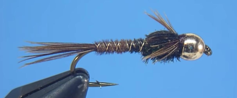 Beadhead Pheasant Tail Nymph Montage mouche de pêche