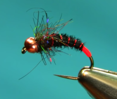 Black Pheasant Tail River Nymph