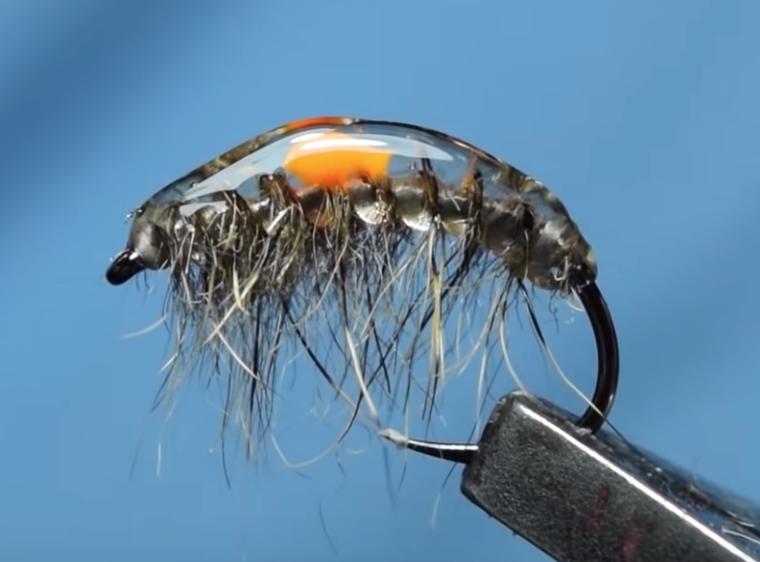Czech Style Parasitic Shrimp Montage mouche de pêche