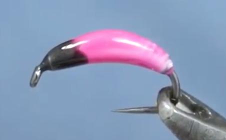 English Pink Bug with UV Colored Resin