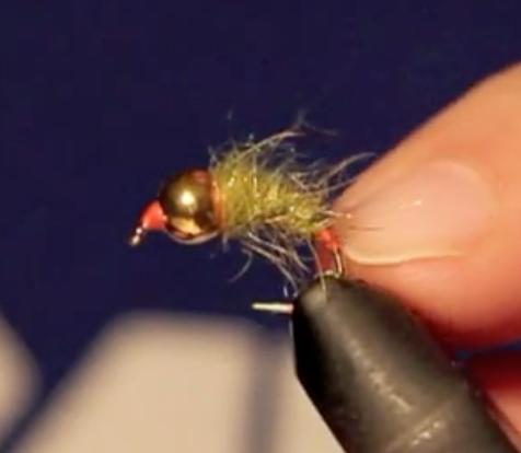 Nymphe au fil : vidéo montage de ma secret double spot orange