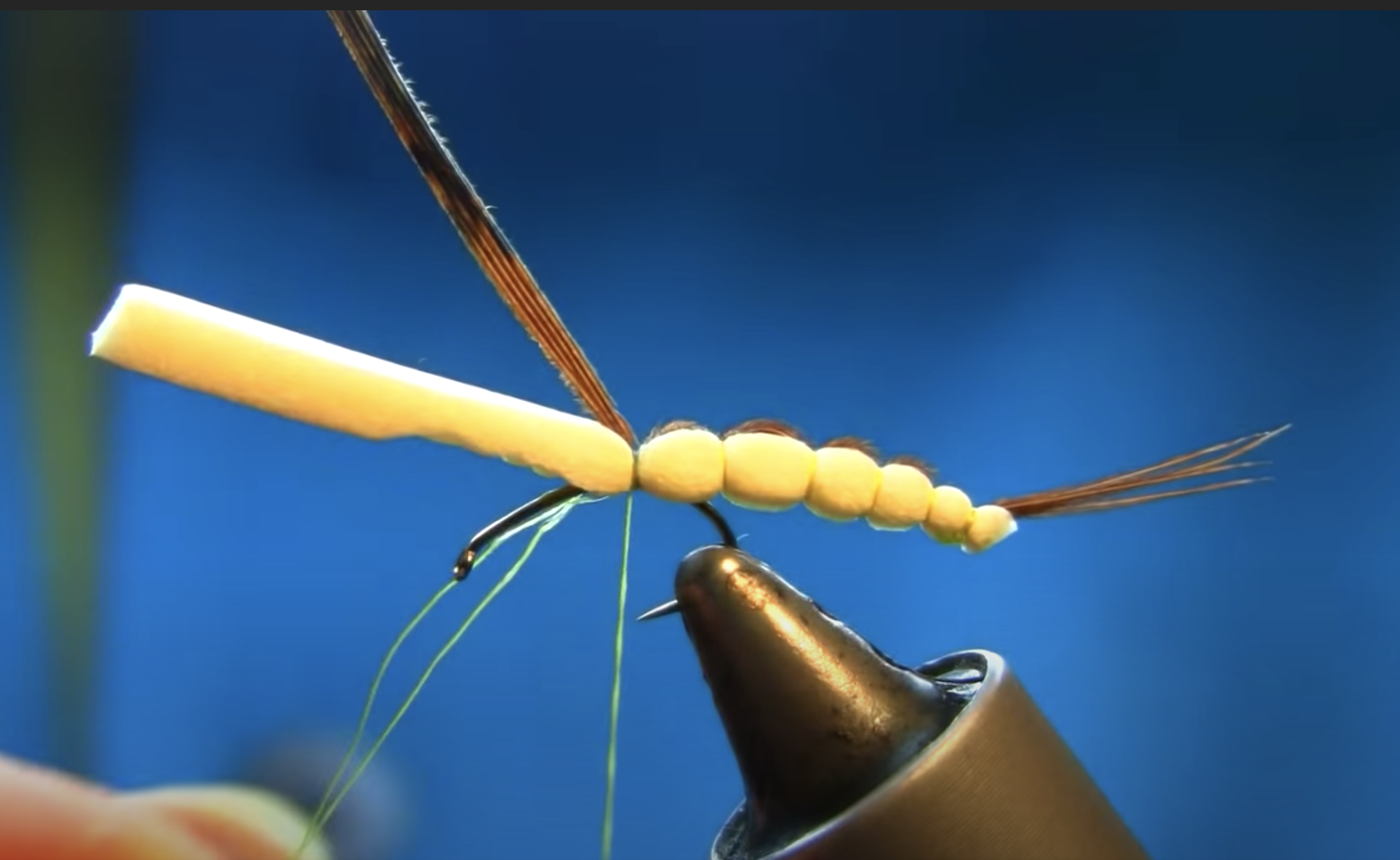 Fly Tying a Detached Body Mayfly Emerger