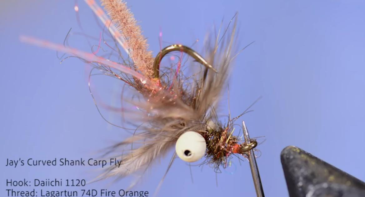 Jay's Curved Shank Carp Fly